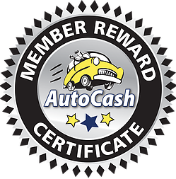 Auto Cash Logo with Gift Cards