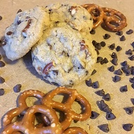 Chocolate Chip Pretzel Cookies-web
