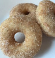 Cinnamon Sugar Baked Mini Donuts - web