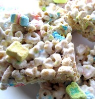 Lucky Charms Marshmallow Treat - web